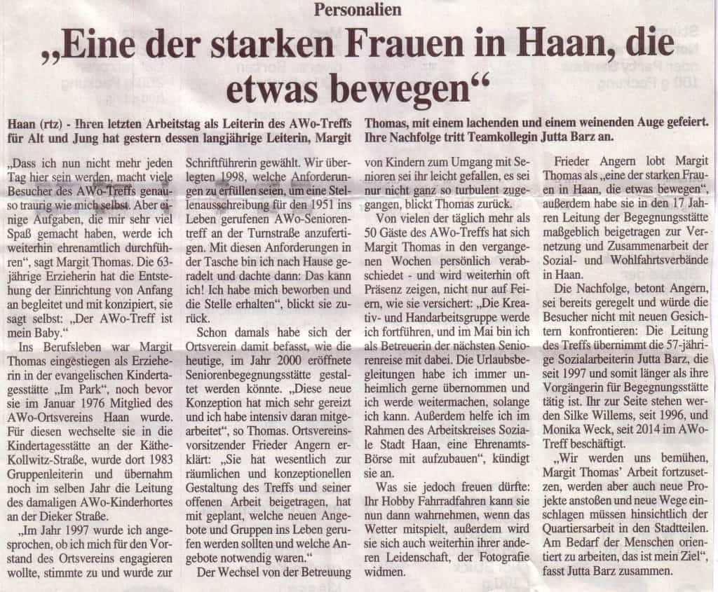 AWO in der Presse HT 1.4.15 Text