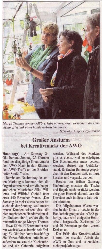 AWO in der Presse HT 28.10.15