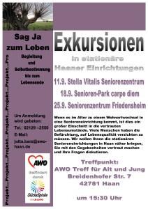 Plakat Exkursionen 1