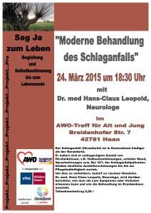 Plakat Vortrag Dr. Leopold 1