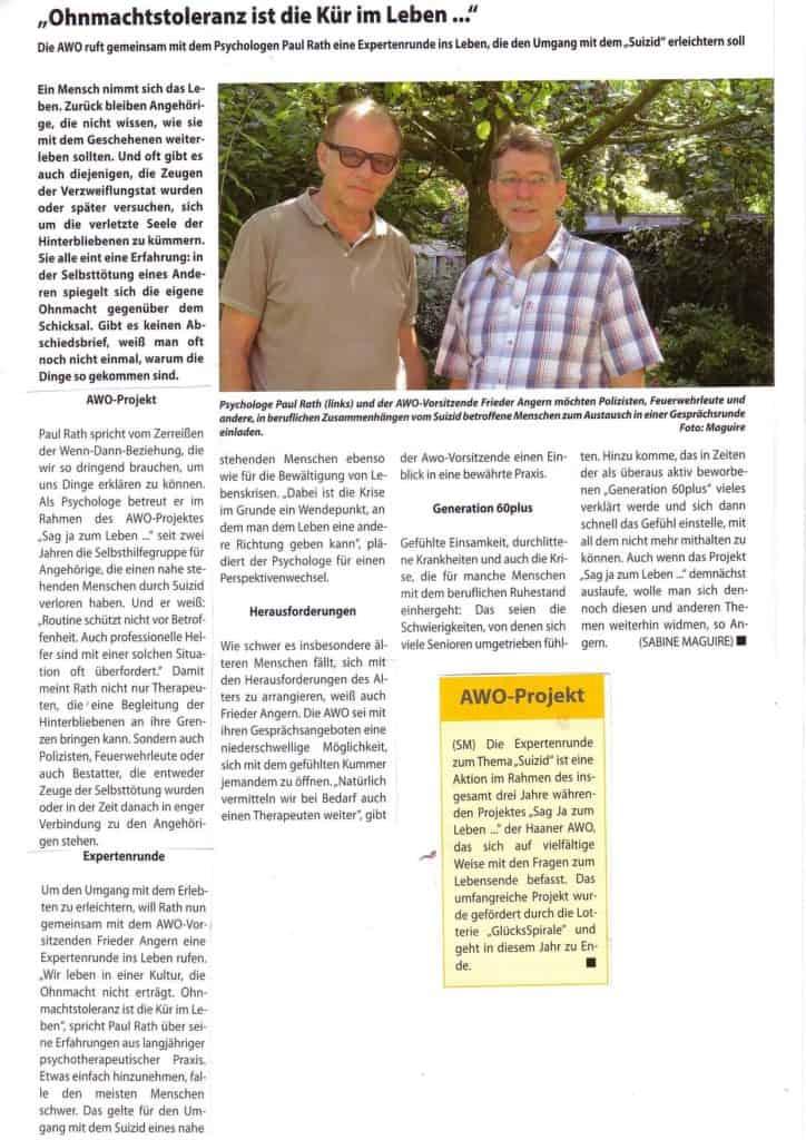 Haaner Stadtmagazin Oktober 2016